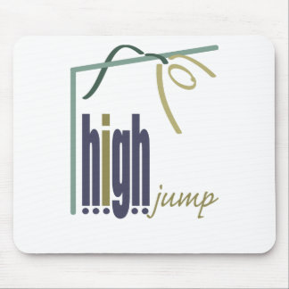 High jump mouse pad
