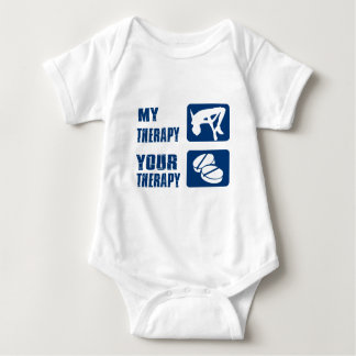 High Jump my therapy Baby Bodysuit