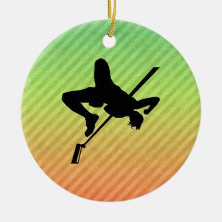 High Jump Christmas Ornaments