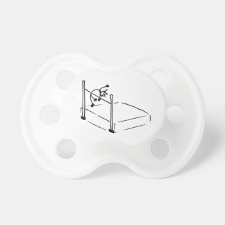 High Jump StickMan Track and Field Pacifier
