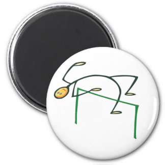 High Jump T-shirts and Gifts. Magnets