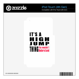 High Jump Thing Designs Skins For iPod Touch 4G