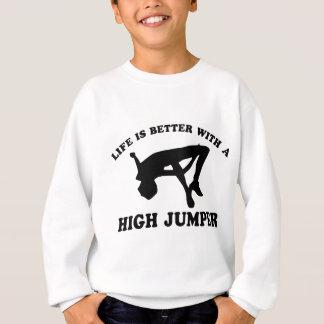 High Jumper Design Sweatshirt