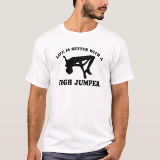 High Jumper Design T-Shirt