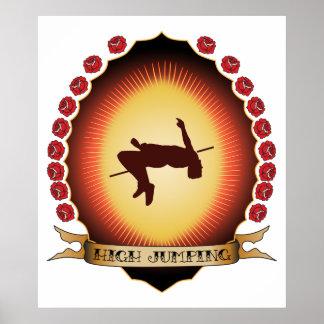 High Jumping Mandorla Poster