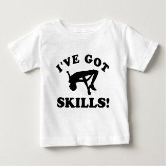 High jumping vector designs baby T-Shirt