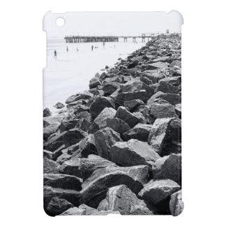 High Key Atlantic Ocean Sea Wall Landscape iPad Mini Cover
