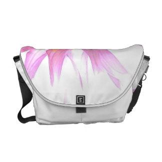 High Key Dahlia Messenger Bag