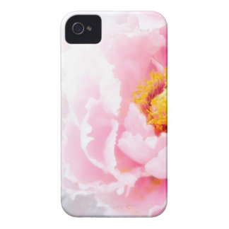 High Key Pink Peony Flower Case-Mate iPhone 4 Case