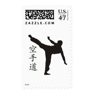 High Kick/Karate Kanji Postage