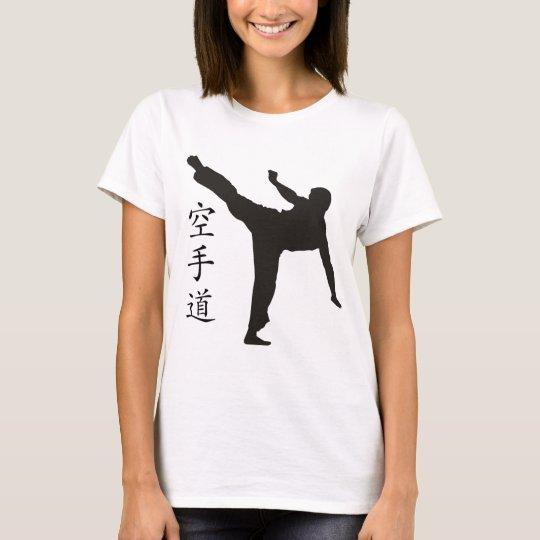 High Kick/Karate Kanji T-Shirt