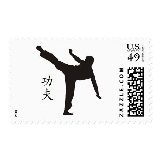 High Kick/Kung Fu Kanji Postage