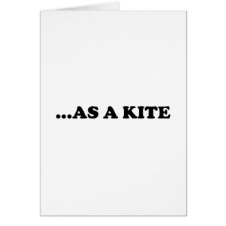 High Kite Stationery Note Card