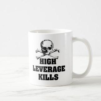 High Leverage Kills Coffee Mugs