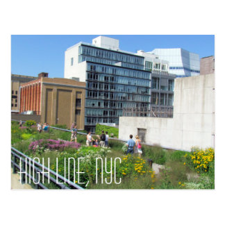 High Line NYC Post Card