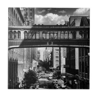 High Line view: National Biscuit Bridge B&W Tiles