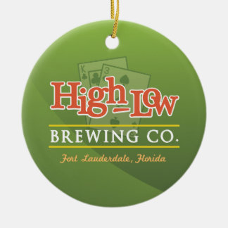 High-Low Brewing Company 1-Sided Ornament