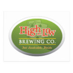High-Low Brewing Company Post Card