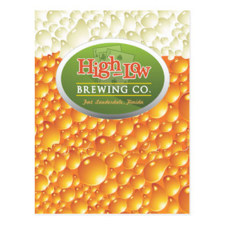 High-Low Brewing Company Postcard