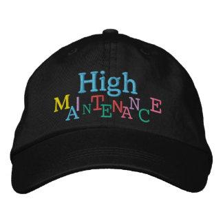 HIGH MAINTENANCE Cap by SRF Embroidered Baseball Cap
