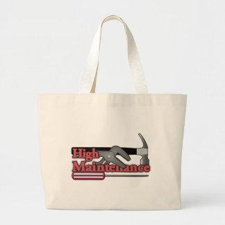 High maintenance tote bags