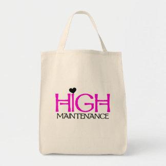 High Maintenance Tshirts and Gifts Tote Bag