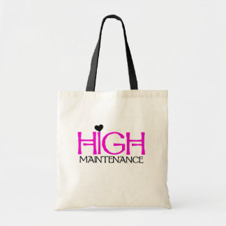 High Maintenance Tshirts and Gifts Tote Bags