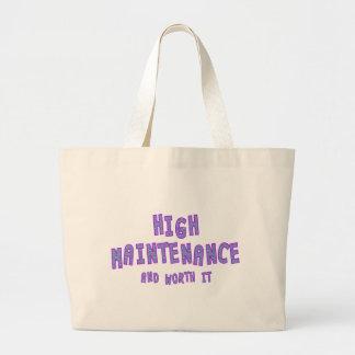 High Maintenance & worth it Tote Bag