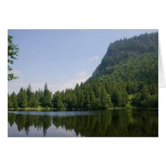 High Mountain Lake Card
