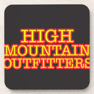 High Mountain Outfitters Drink Coaster