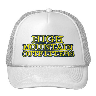 High Mountain Outfitters Trucker Hat
