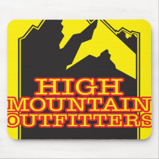 High Mountain Outfitters Mouse Pad
