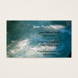 High Mountain Pool Business Card