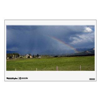 High Mountain Rainbow Wall Decal