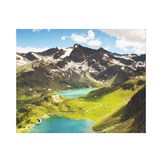 High Mountains Canvas Print