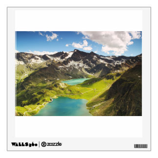 High Mountains Wall Decal