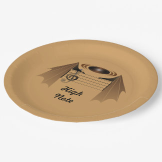 High Note 9 Inch Paper Plate