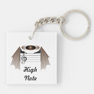 High Note Keychain