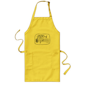 High Note Long Apron