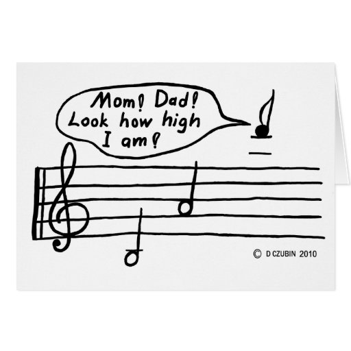 High Note Stationery Note Card