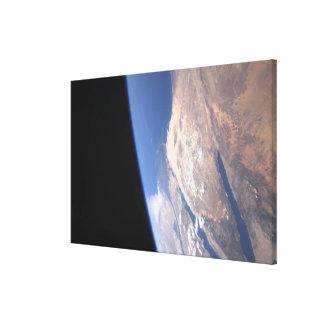 High oblique scene canvas print