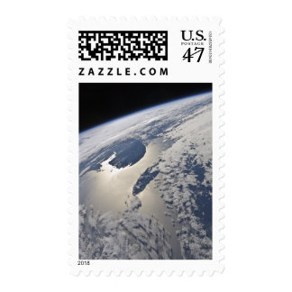 High-oblique view of the Gaspe Peninsula Postage