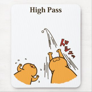 High Pass (Color) Mouse Pad