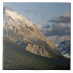High peak near Maligne Lake, Jasper National Ceramic Tile