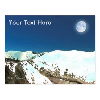 High Peaks - Thin Air Postcard