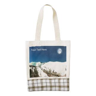 High Peaks - Thin Air Zazzle HEART Tote Bag