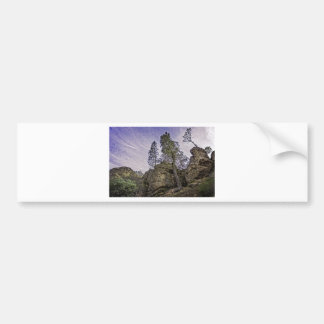 High Peaks Trail View Bumper Sticker