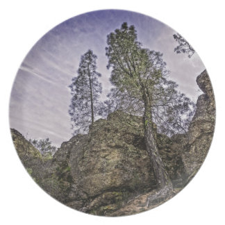 High Peaks Trail View Party Plates