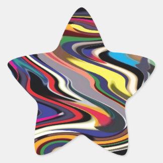 High Performance Adrenaline : Pushing Boundaries Star Sticker