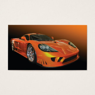 High Performance Auto Sales and Service Business Card